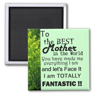 Best Mother In The World Fridge Magnets