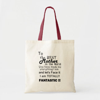 Best Mother In The World Tote Bag