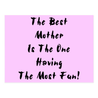Best Mother! Postcard