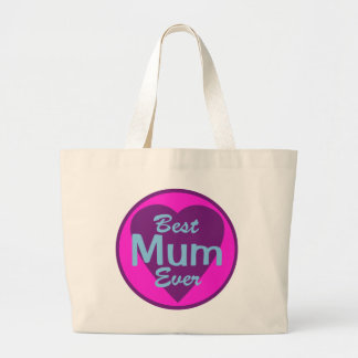 Best Mum Ever Canvas Tote
