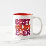 BEST MUM EVER - fun gorgeous MUG for mother