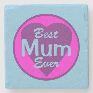 Best Mum Ever Stone Coaster