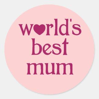 Best Mum Sticker