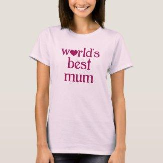 Best Mum T-Shirt