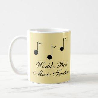 Best Music Teacher mug