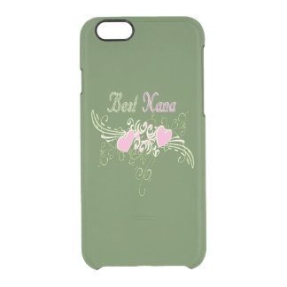 Best Nana Swirling Hearts Uncommon Clearly™ Deflector iPhone 6 Case
