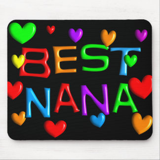 Best Nana T-Shirts & Gifts Mouse Pad