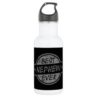 Best Nephew Ever Gray Stainless Steel Water Bottle