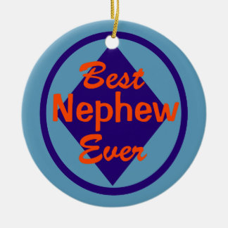 Best Nephew Ever Personalized Ornament