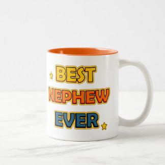 Best Nephew ever Two-Tone Coffee Mug
