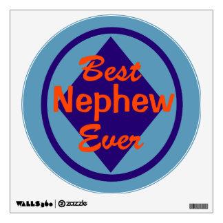 Best Nephew Ever Wall Sticker