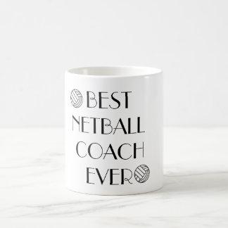 Best Netball Coach Ever Coffee Mug