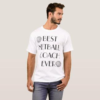 Best Netball Coach Ever Male Tshirt