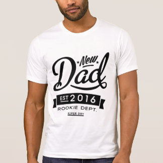 Best New Dad 2016 T-Shirt