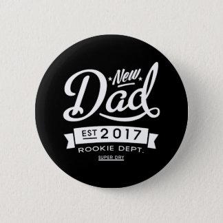 Best New Dad 2017 Dark Pinback Button