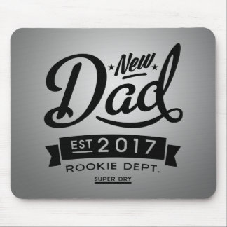 Best New Dad 2017 Mouse Pad