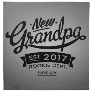 Best New Grandpa 2017 Cloth Napkin