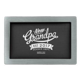 Best New Grandpa 2017 Dark Belt Buckle