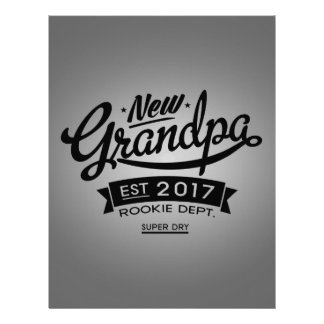 Best New Grandpa 2017 Letterhead