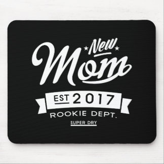 Best New Mom 2017 Dark Mouse Pad