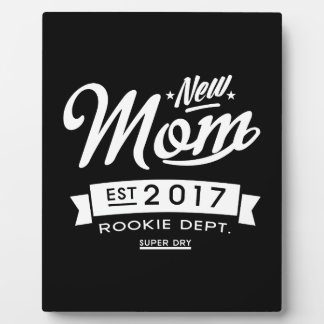 Best New Mom 2017 Dark Plaque