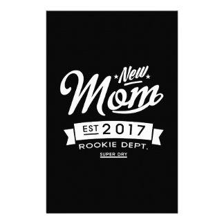 Best New Mom 2017 Dark Stationery