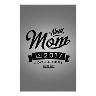 Best New Mom 2017 Stationery
