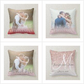 Best Newlyweds Keepsake Gifts - Pillows