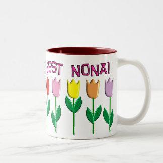 Best Nona Tulips Design Coffee Mugs