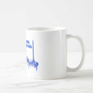 Best not miss classic white coffee mug