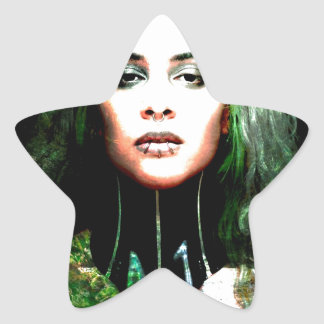 BEST NOT TO MESS WITH MOTHER NATURE.jpg Star Sticker