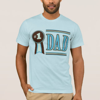 Best / Number One Dad Father's Day T-Shirt