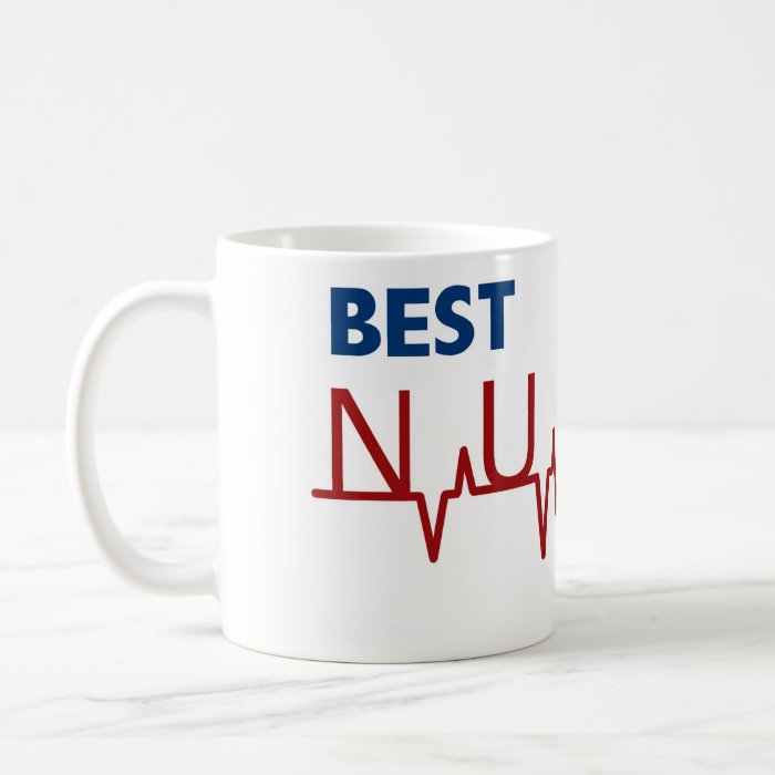Best nurse ever coffee mug zazzle Best coffee cups ever