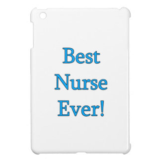 Best Nurse Ever iPad Mini Cover