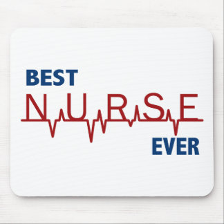 Best Nurse Ever Mouse Pad