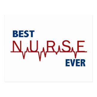 Best Nurse Ever Post Card