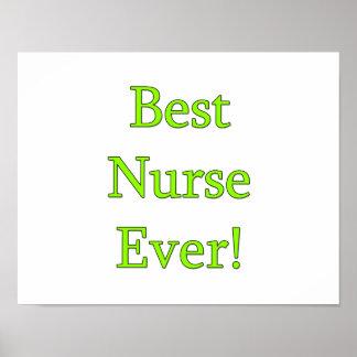 Best Nurse Ever Poster