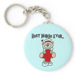 Best Nurse Ever T-shirts and Gifts Keychain