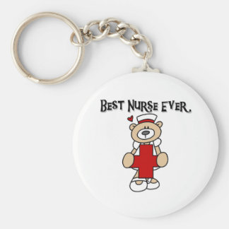 Best Nurse Ever T-shirts and Gifts Keychains