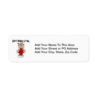 Best Nurse Ever Tshirts and Gifts Label
