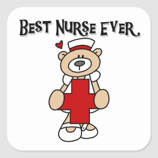 Best Nurse Ever Tshirts and Gifts Sticker