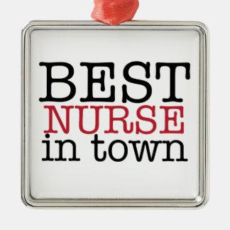 Best Nurse in Town Ornament