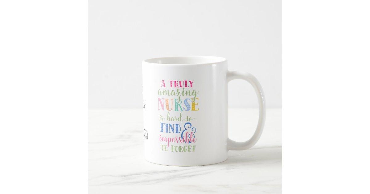Best Nurse Nurse Mug Nurse Gift Thank You Coffee Mug Zazzlecom