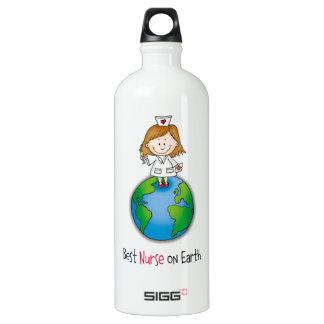 Best Nurse on Earth - Nurses Day - Nurses Week Water Bottle