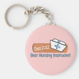 Best Nursing Instructor Key Chain