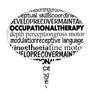 Best Occupational Therapy Gifts Cake Topper
