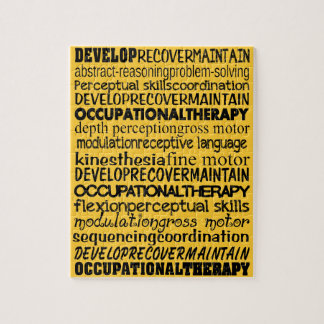 Best Occupational Therapy Gifts Jigsaw Puzzle