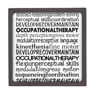 Best Occupational Therapy Gifts Keepsake Box