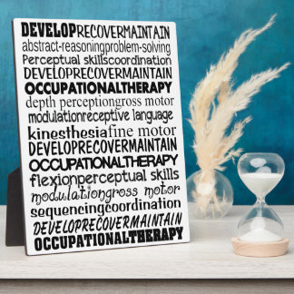 Best Occupational Therapy Gifts Plaque