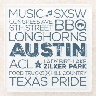 Best of Austin, Texas Subway Art Coaster